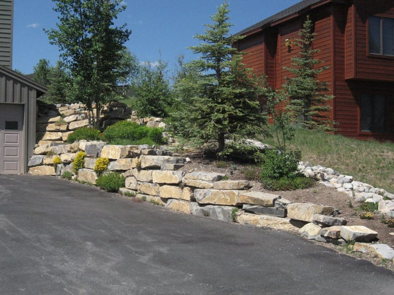 Retaining walls for Best backfill material for foundation
